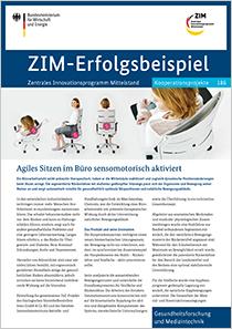 Cover der Publikation: ZIM-Erfolgsbeispiel 186