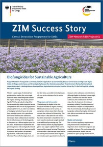 Cover SuccessStory Biofungicides Netzwork Number 51