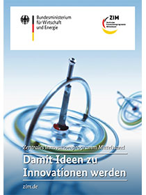 Cover der Publikation Zentrales Innovationsprogramm Mittelstand